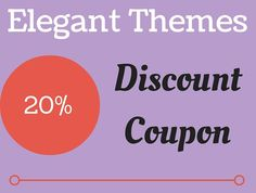 Elegant Themes Coupon 2016 | All Time 20% Discount !!