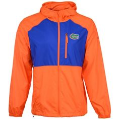 Columbia Florida Gators Ncaa Men's Flash Forward Windbreaker Jacket ($60) ❤ liked on Polyvore featuring men's fashion, men's clothing, men's outerwear, men's jackets, orange, mens windbreaker jacket, mens orange ski jacket, mens zip jacket and columbia mens jacket