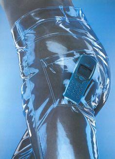 nokia ad 2000 y2k millenium transparent
