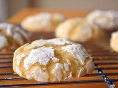 Lemon cloud cookies