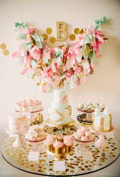 Baby's party theme! So pretty!