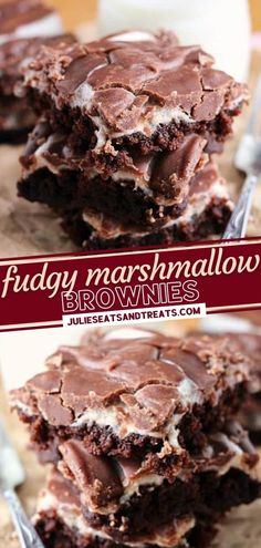 What better way to create memories with your family than with this holiday baking idea? This recipe starts with a chewy, fudgy brownie. Topped with ooey-gooey marshmallows and chocolate frosting, everyone will be begging for this Christmas dessert after one bite!