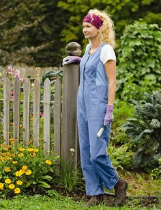 Durable gardenworthy Womens Railroad Striped Overalls are made