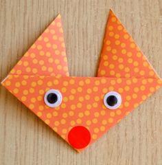 Le renard en origami - Jeux et loisirs - Pure Famille