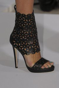 Cheap high heel ankle boots, Buy Quality boots white directly from China boots high Suppliers: Black leather open toe high heel ankle boots runway cut-outs sandal boots high quality gladiator sandal boots short boots white Fab Shoes, Pretty Shoes, Beautiful Shoes, Cute Shoes, Me Too Shoes, Shoes Heels, Suede Sandals, Shoe Boots, Ankle Boots