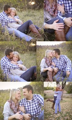 Fall Engagement Photo Ideas. Poses. Outfits. So cute! :) - Emily Davidson Photography emilydavidsonphotography.com