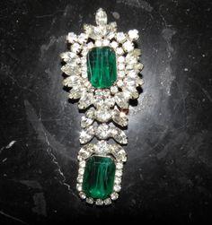 Eisenberg Ice Brooch Think Emeralds
