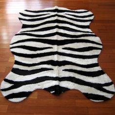 ebay zebra rug