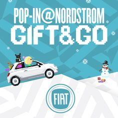 I just entered for a chance to win a FIAT® 500! Visit Pop-In@Nordstrom: GIFT & GO to enter. #NordstromPOP