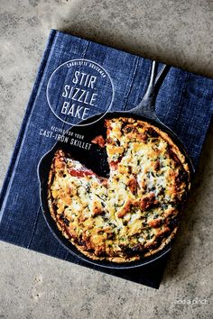 Stir, Sizzle, Bake: Recipes for Your Cast-Iron Skillet Cookbook Giveaway Winner! via @addapinch