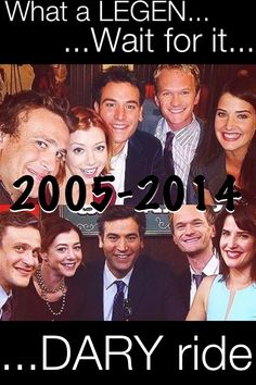 how i met your mother #himym  2005-2014