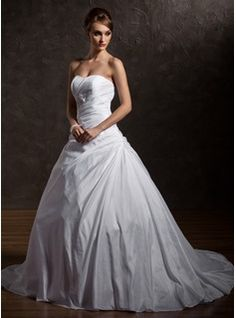 2012 Wedding dresses, customized ball gowns, wedding dresses with various styles at wholesale prices - JenJenHouse.com