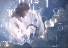 ...Revelation 19:11 Then I saw heaven opened, and behold, a white horse! The one sitting on it is called Faithful and True, and in righteousness he judges and makes war.