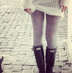 Hunter boots<3