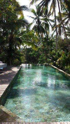 Guarantee the feeling of vacations at a tropical destination. Get your bathing suit ready, we are going to take you on a trip to tropical swimming pool designs, and you will find yourself choosing one for your yard. Go to backyardmastery.com for more ideas.
