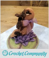 EDITOR'S CHOICE (02/29/2016) Baby Platypus by SRO-AUSTIN View details here: http://crochet.community/creations/4244-baby-platypus