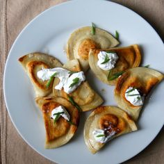 Brown Butter-Seared Potato and Cheese Pierogi Recipe - Todd Porter and Diane Cu | Food & Wine