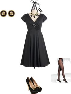 """Christmas party"" by ali-laprade on Polyvore"