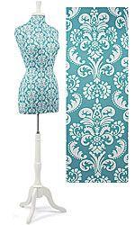 neat damask mannequin/dress form $89