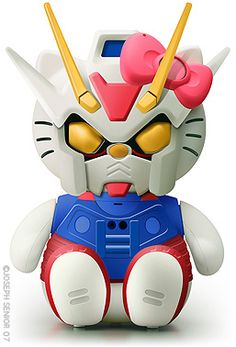 Hello Gundam by yodaflicker, via Flickr