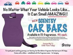 #Scentsy #CarBars order here: http:// samanthaarsenault1212.scentsy.us check out Facebook: https://m.facebook.com/samscentsyanchored/