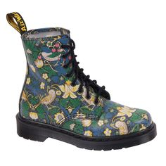 Liberty print Doc Martens-can't decide whether to be appalled or intrigued.