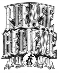 believe typography - Google Search