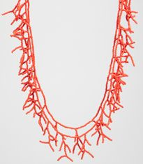 Coral Necklace - I have done one similar!!
