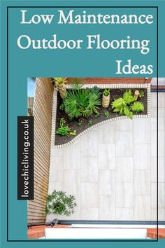 Are you looking for low maintenance outdoor flooring ideas? Not sure if wooden outdoor flooring or tiled outdoor flooring is best suited to your garden design? Check out these outdoor flooring design ideas, and patio flooring ideas that are low maintenance and inexpensive! These patio flooring designs and inexpensive outdoor flooring ideas will make your outdoor seating area look amazing all year round without any expensive upkeep! Outdoor Flooring Options, Patio Flooring, Flooring Ideas, Contemporary Garden Rooms, Lawn Turf, Timber Deck, Outdoor Seating Areas, Backyard Bbq, Garden Spaces