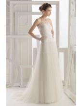 Romantische Brautkleider für Mollige Aire Barcelona 201 Obadia