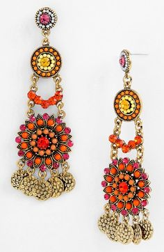 Cara Chandelier Earrings available at #Nordstrom