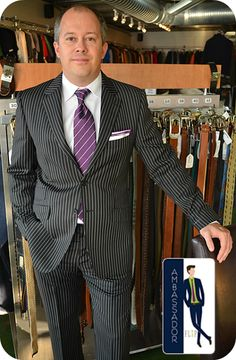 Meet Shelton, a FLIP Ambassador! Shelton came in and found this excellent Paul Smith suit that fit very well! We love the purple tie with a ...