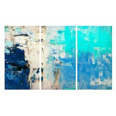 Blues Triptych Wall Art - Triptych - T&W Unbranded Events 2015