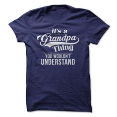 It's a Grandpa thing, you wouldn't understand. Let's just be honest. There is a very specific and special perspective that only Grandpas have. They receive the special blessing of watching their kiddo