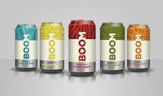 Ross Allan • design (BOOM Energy Drink)