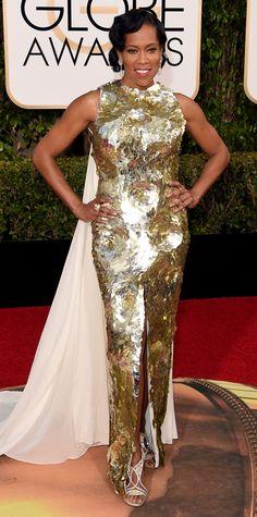 2016 Golden Globes Red Carpet Arrivals - Regina King  - from InStyle.com