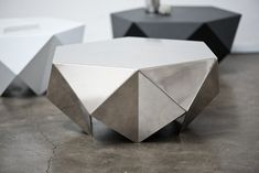 Monolith - Lounge Side Table by Desinere