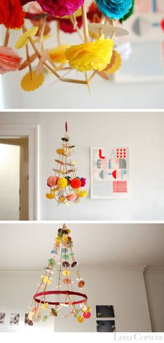 Polish Paper Chandeliers (Pajaki).  I wanna learn how and make one.