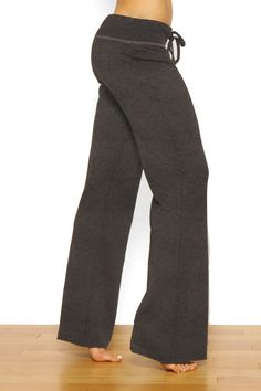 33 Jean Lounge Womens Yoga Pants With Vintage Wash in Indigo by ...