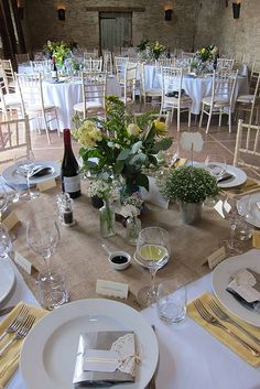 The table is set at Oxleaze Barn wedding venue in Gloucestershire Barn Wedding Decorations, Barn Wedding Venue, Rustic Wedding, Barn Weddings, Budget Wedding, Wedding Tips, Our Wedding, Wedding Planning, Marriage License