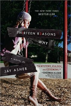 """13 Reasons Why by Jay Asher. A very moving story. The ONLY book I will say is a good book that doesn't have a happy ending. A young girl that commited suicide leaves a box of tapes to be passed along a chain of people, each person on the list is one of the """"13 reasons why"""" she killed herself."""