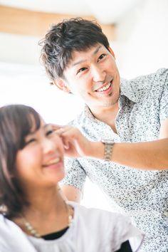 美容師さんのプロフィール写真。信用されたいなら顔を出すことは重要です。