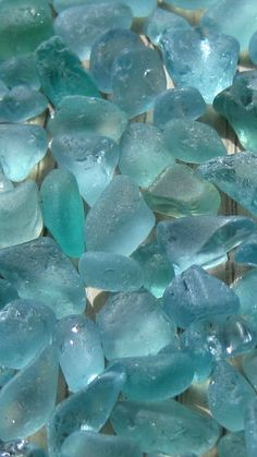 aqua and turquoise tinies collected in Hawaii Finding Treasure, Sea Glass Colors, Sea Glass Crafts, Sea Glass Beach, Aqua, Turquoise, Light Teal, Beautiful Textures, Sea Glass Jewelry