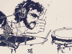 Jojo Mayer - Watch drum video here: http://dailydrumvideos.com/2012/02/18/jojo-mayer/