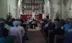 Arpèges en Fenouillèdes s'est délocalisé à Notre Dame de Laval pour un concert exceptionnel