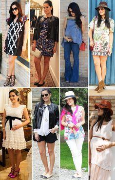 Moda para grávidas: O estilo da linda Mariah Bernardes Mariah Bernardes, Pregnancy Style, Mom Style, Maternity Fashion, New Look, Ideias Fashion, Skirts, Fashionable Mom, Sons