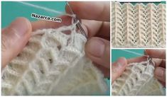 KABARIK KILÇIKLI TIĞ ÖRGÜ YELEK,ŞAL VE BATTANİYE | Nazarca.com Crochet Christmas Ornaments, Fingerless Gloves, Arm Warmers, Knitting, Fashion, Blanket, Vest Coat, Crochet Batwing Tops, Knitting And Crocheting