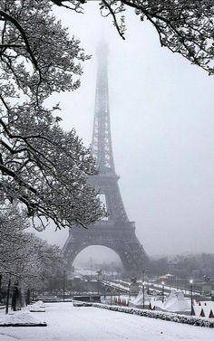 #Paris. #Inverno. #Love.