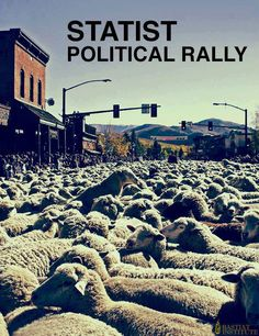 Statist political rally | Anonymous ART of Revolution
