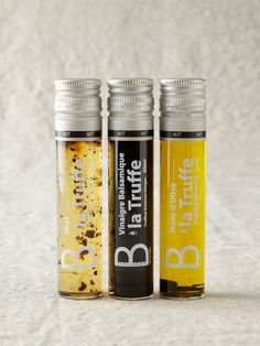 Gourmet Attitude Truffle Gift Box, $48.95. Includes truffle-infused olive oil, balsamic vinegar, and honey.